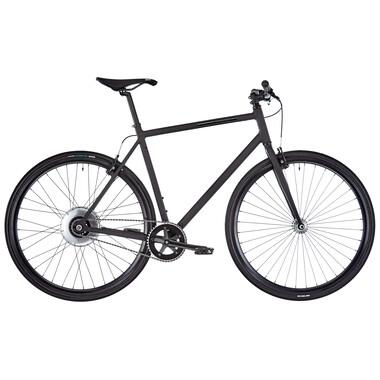 Bicicleta de paseo eléctrica FIXIE INC. BACKSPIN ZEHUS Negro